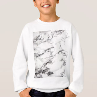 Greyish White Marble Sweatshirt