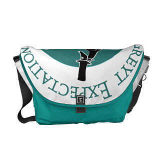 Greyt Expectations Greyhound Rescue Messenger Bag