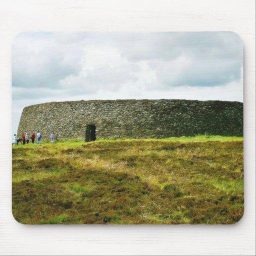 Griahan Aileach Stone Forts Ireland Mousepad