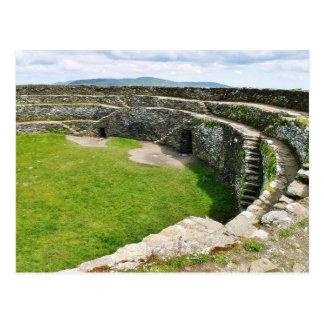 Griahan Of Aileach Stone Fort Postcard
