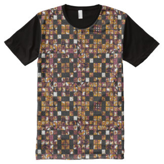 Grid of Cats All-Over-Print T-Shirt