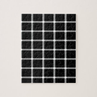 Grid Optical Illusion Design Jigsaw Puzzle