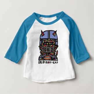 GridIron Baby American Apparel 3/4 Sleeve Raglan T Baby T-Shirt