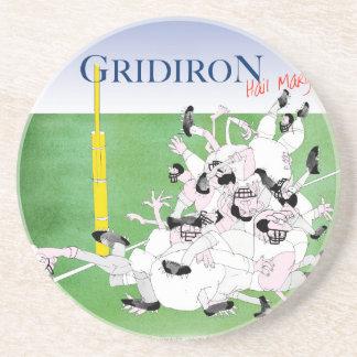 Gridiron -'hail mary pass', tony fernandes coaster