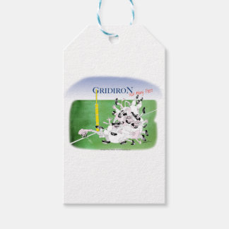 Gridiron hail mary pass, tony fernandes gift tags