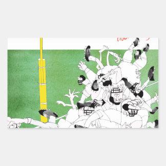 Gridiron -'hail mary pass', tony fernandes sticker
