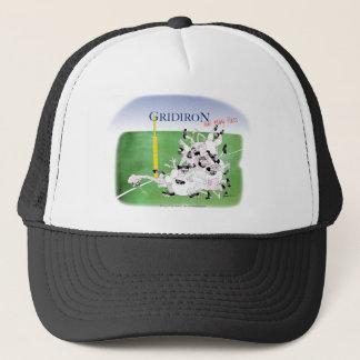 Gridiron hail mary pass, tony fernandes trucker hat