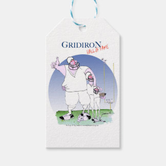 Gridiron hall of fame, tony fernandes pack of gift tags