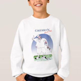 Gridiron hall of fame, tony fernandes sweatshirt