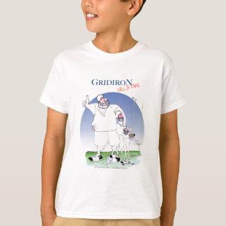 Gridiron hall of fame, tony fernandes T-Shirt