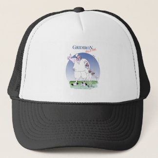 Gridiron - hall of fame, tony fernandes trucker hat