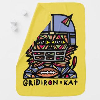 """GridIron Kat"" Baby Blanket"