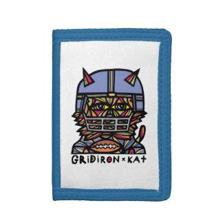 GridIron Kat BuddaKats TriFold Wallet