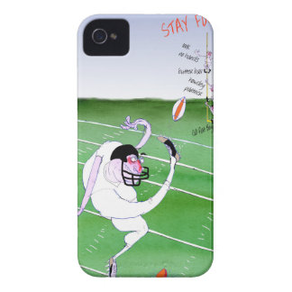 Gridiron - stay focused, tony fernandes Case-Mate iPhone 4 case