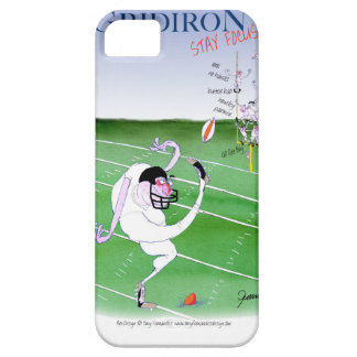 Gridiron  stay focused, tony fernandes iPhone 5 cover