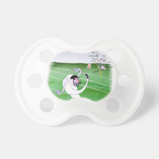 Gridiron  stay focused, tony fernandes pacifier