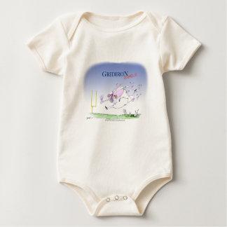 Gridiron steamroller, tony fernandes baby bodysuit