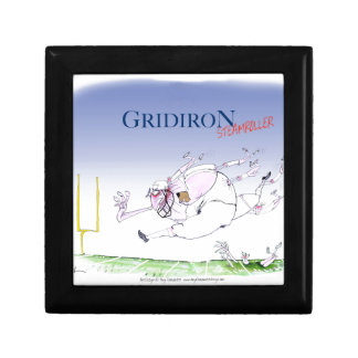 Gridiron - steamroller, tony fernandes gift box
