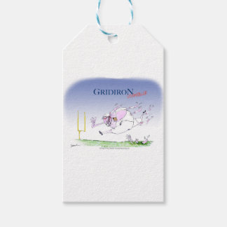 Gridiron steamroller, tony fernandes gift tags