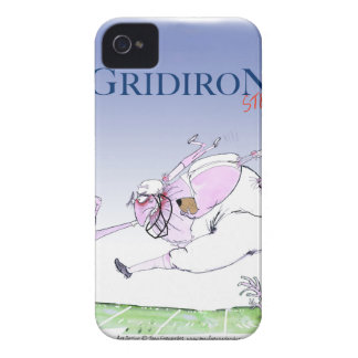 Gridiron - steamroller, tony fernandes iPhone 4 case