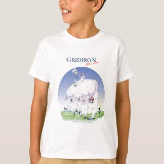 Gridiron teamwork, tony fernandes T-Shirt