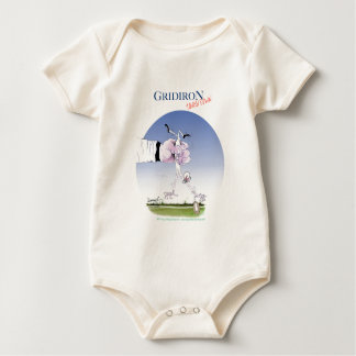 Gridiron -  touch down, tony fernandes baby bodysuit