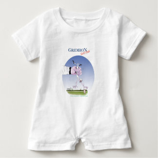 Gridiron -  touch down, tony fernandes baby romper