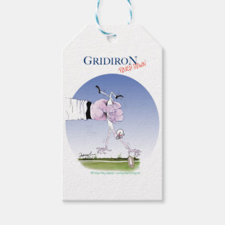 Gridiron touch down, tony fernandes gift tags