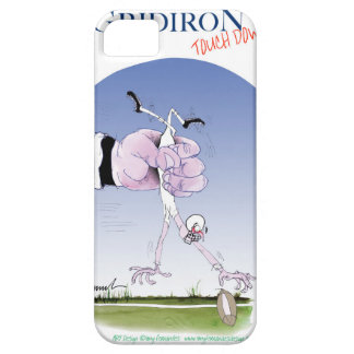 Gridiron -  touch down, tony fernandes iPhone 5 cover
