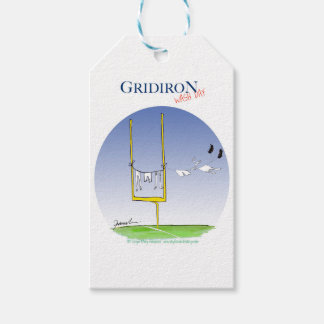 Gridiron - wash day, tony fernandes pack of gift tags