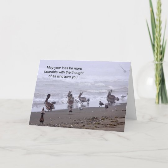 Grief Card - May your loss be more bearable