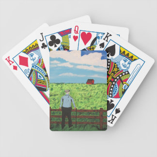 Griff and the Red Barn Bicycle Playing Cards