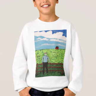 Griff and the Red Barn Sweatshirt