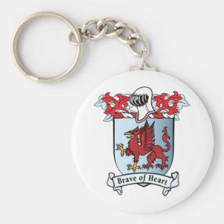 Griffin Crest Keychain