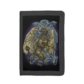 Griffin Crest Tri-fold Wallets