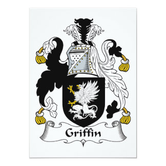 Griffin Family Crest Card