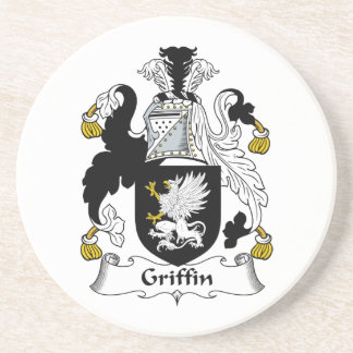 Griffin Family Crest Coaster
