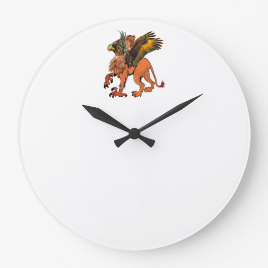 Griffin from Mom's Sunday Breakfast Wall Clock