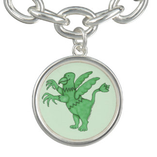 Griffin Gang (sans text) Charm Bracelet