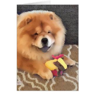 GRIFFIN heARTdog chow Card