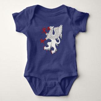 Griffin Rampant Argent Baby Bodysuit