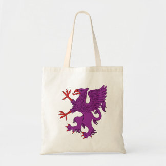 Griffin Rampant Purpure Tote Bag