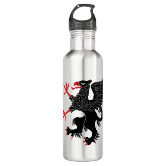 Griffin Rampant Sable 710 Ml Water Bottle