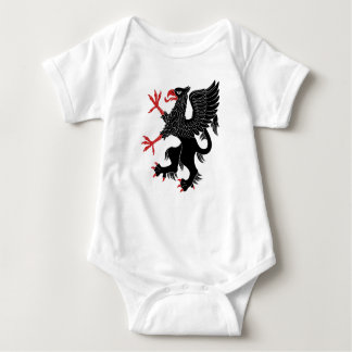 Griffin Rampant Sable Baby Bodysuit