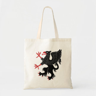 Griffin Rampant Sable Tote Bag