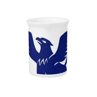 Griffin with Paintbrush Tail Icon Pitcher