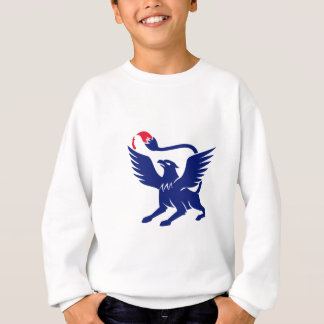 Griffin with Paintbrush Tail Icon Sweatshirt