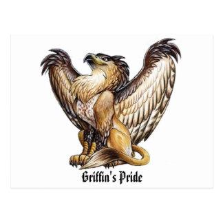 Griffin's Pride - Postcard