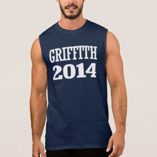 GRIFFITH 2014 SLEEVELESS T-SHIRTS