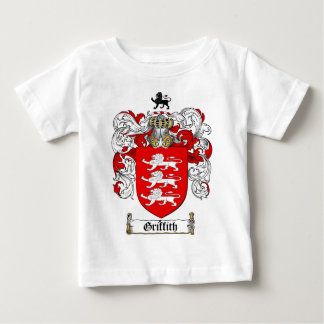 GRIFFITH FAMILY CREST -  GRIFFITH COAT OF ARMS BABY T-Shirt